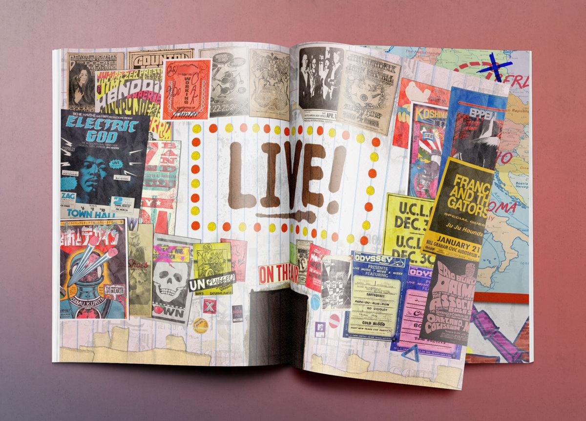 MTV Tour Book - Luciano Baragiola